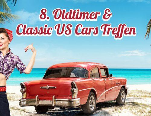 8. Oldtimer & Classic US Cars Treffen am 7. und 8. September 2019
